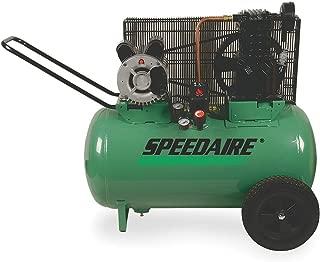 Speedaire 1NNF6 Air Compressor, 120 V, 2 HP, 20 Gal Tank