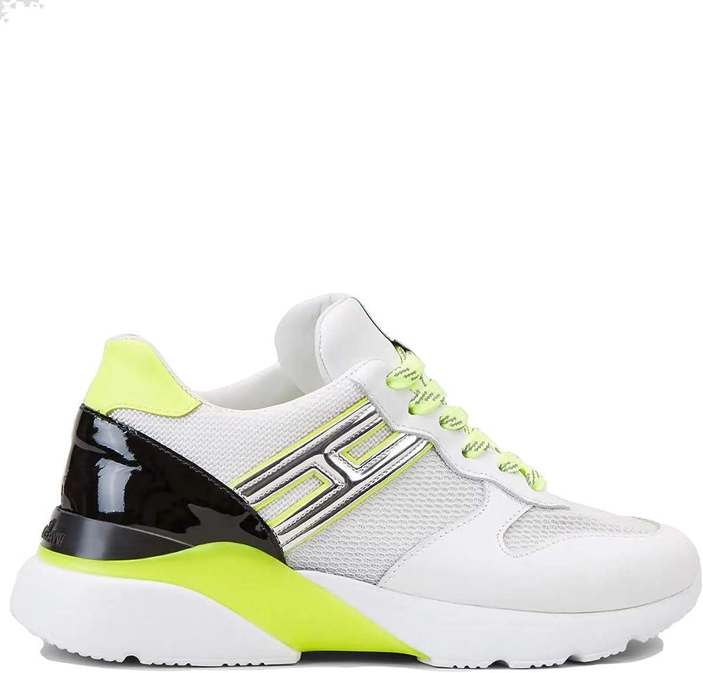 Hogan luxury fashion,sneakers per donna,in pelle e mesh HXW3850BF50N1FST10