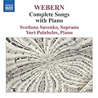 Webern: Songs With Piano