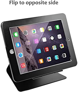 iPad Desktop Anti-Theft Security Kiosk POS Stand Holder Enclosure with Lock & Key for Tablets iPad 2,3,4, iPad air, iPad air 2, iPad Pro 9.7