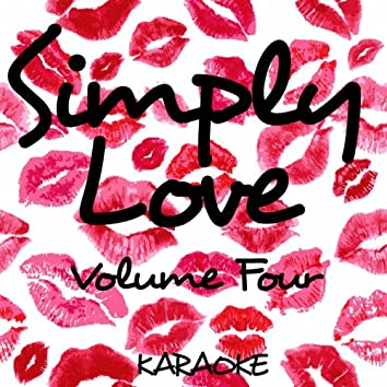 Simply Love - Karaoke, Vol. 4