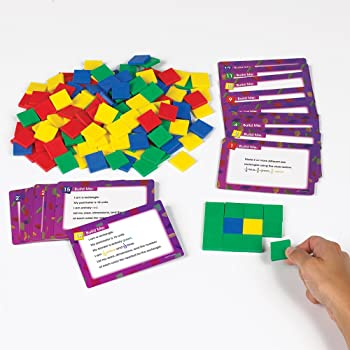 Didax Educational Resources Area /& Perimeter Dominoes Childrens Mathematical Learning Aids 211242