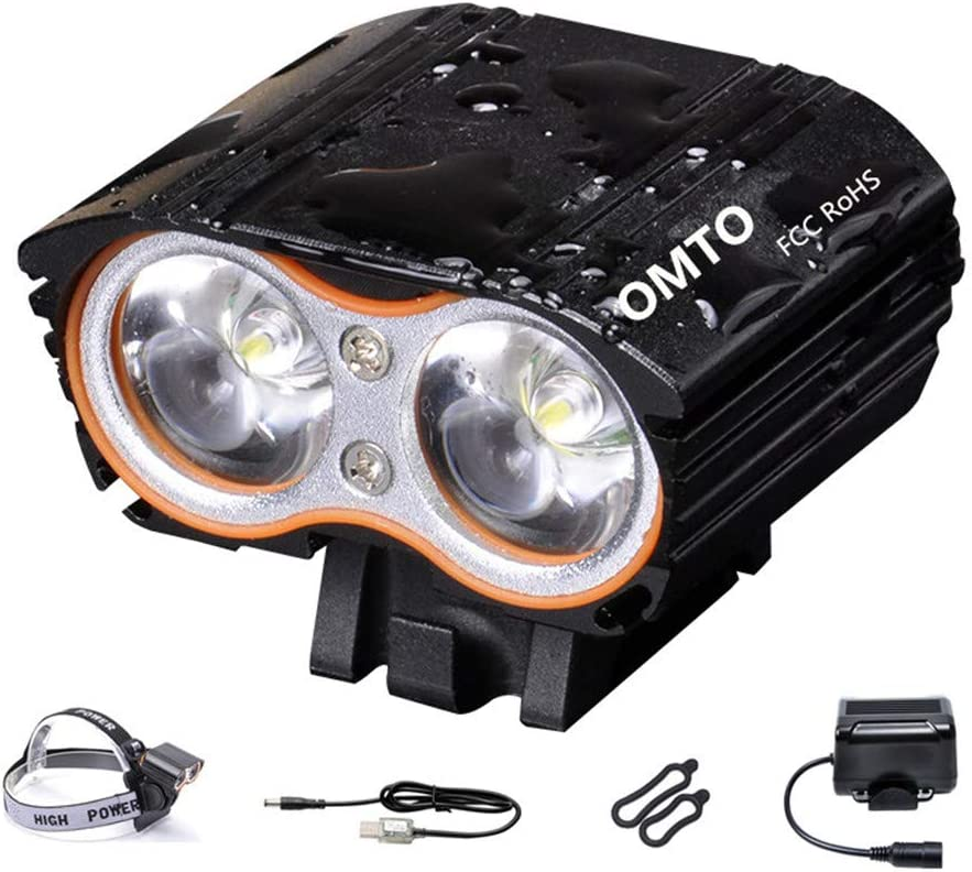 OMTO 200-2400Lumens Eagle Eye OFFicial store Ultra Waterproof Bike Max 51% OFF Headl Bright