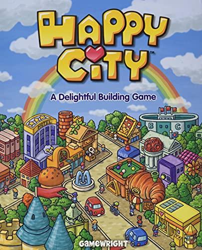 Happy City - Build Your Mini-Metropolis! A Delightful Building Card...