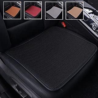 Rayauto 2pcs Environmental Ice Silk Car Front Seat Cushion,Breathable Comfort Car Drivers Seat Covers, Universal Car Interior Seat Protector Mat Pad Fit Most Car, Truck, Suv, or Van