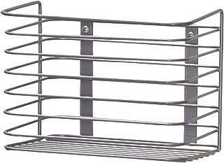 Household Essentials 1227-1 Medium Basket Door Mount Cabinet Organizer | Mounts to Solid Cabinet Doors or Walls