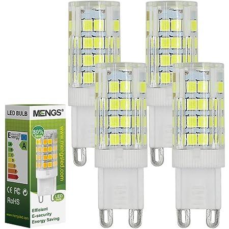 nicht dimmbar 5er Pack Kein Flackern und 3000k warmwei/ß G9 LED Leuchtmittel Ersatz 40W G9 Halogenlampe 360/° Abstrahlwinkel LE 3.5W G9 LED Lampe 400 Lumen