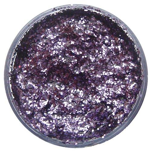 wicked Snazaroo 128775 12 ML Lavender Glitter Gel Pot