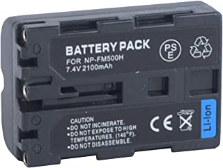 for Sony NP-FM500H InfoLITHIUM M-Series Rechargeable Lithium-ion Battery Pack