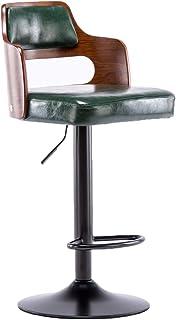 C-J-X STOOL/CHAIR Sillas De Escritorio para Oficina, Hogar Simplicidad Sillas para Computadora Cómodas Sillas De Comedor Fáciles De Limpiar Tamaño: 42 * 63-83CM(Color:#1)