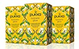 Pukka Herbs Turmeric Glow, Organic Herbal Tea With Lemon & Whole Leaf...