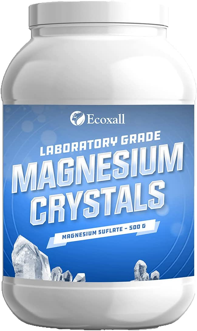 Daily bargain Ranking TOP16 sale Magnesium Crystals - 500 Grade g Laboratory Sulfate