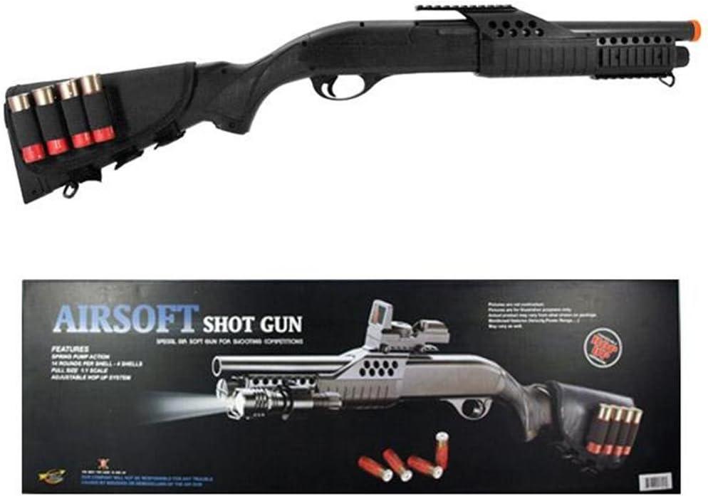 cyma airsoft shotgun New arrival pump w shells 5 popular m180d1 stock - solid Airsoft