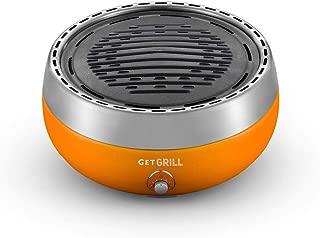Churrasqueira Portátil a Carvão Get Grill Laranja