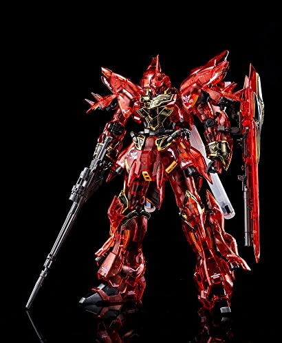 Bandai 1 144 RG MSN-06S Shinanju Clear Farbe Mobile Suit Gundam UC Event Limited