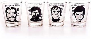 Shot Glass - Bollywood Villians | Set of 4 Glasses | Funny and Cool Tequila or Vodka Shot Glasses | Diwali Gift Set | Birt...