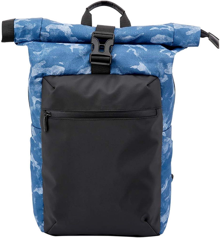 Zhong chuang Laptop-Rucksack, diebstahlsichere wasserdichte Schultasche für College-Reiserucksack