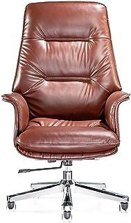 Sillas de Escritorio de Oficina Silla de oficina con respaldo alto escritorio de oficina Silla de ordenador Ejecutiva silla de oficina con brazos y la espalda textuales, sillas de ordenador de casa (B