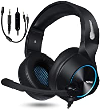 NUBWO Gaming Headset for Xbox One PS4 PC Gaming and Nintendo Switch,Stereo Surround Noise Cancelling Over Ear Gaming Headp...