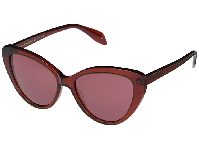 Alexander McQueen  AM0240S (Red) Fashion Sunglasses