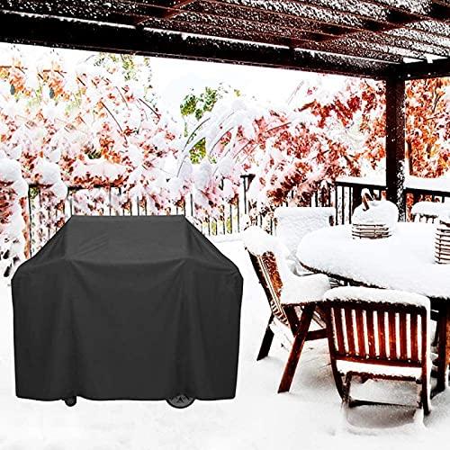 Fodera per divano da esterno, fodera per panchina da giardino Fodera protettiva in rattan anti-UV resistente agli strappi 420D in tessuto Oxford 180x100x85cm nero
