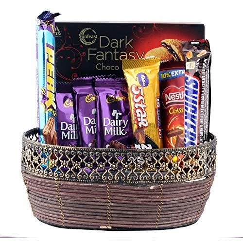 Astonished Retail Assorted Cadbury Chocolate Combo | Gift for All Festivals | Chocolate Gift Hamper for Diwali, Birthday, Holi, Rakhi, New Year, Christmas, Anniversary, 1