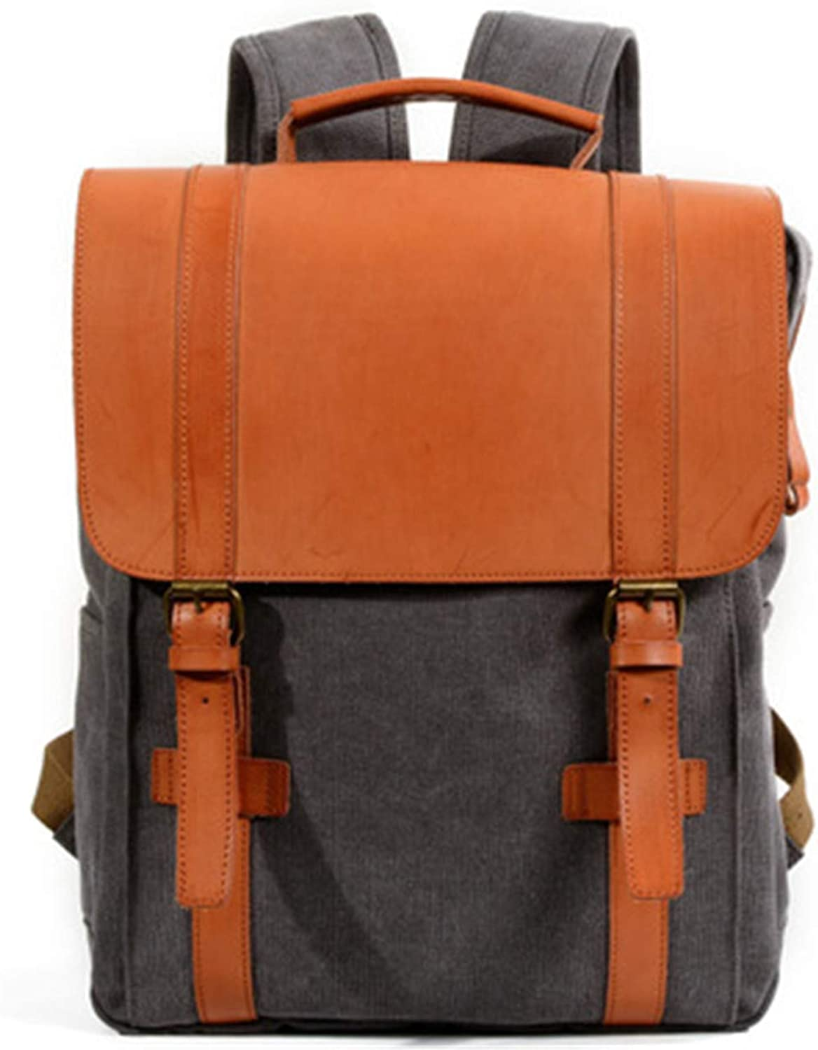 Yuetanus Women's Canvas College Wind Backpack