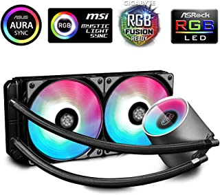 Deepcool Gamer Storm Castle 240 Addressable RGB V2 AIO CPU Liquid Cooler with Anti-Leak Technology | DP-GS-H12AR-CSL240V2