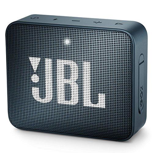 JBL GO2 – Bocina Bluetooth portátil (Resistente al Agua), Marino