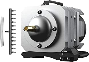 VIVOHOME Electromagnetic Commercial Air Pump 1750GPH 102W 12 Outlets 110V for Aquarium Fish Tank Aquaponics and Hydroponic Systems