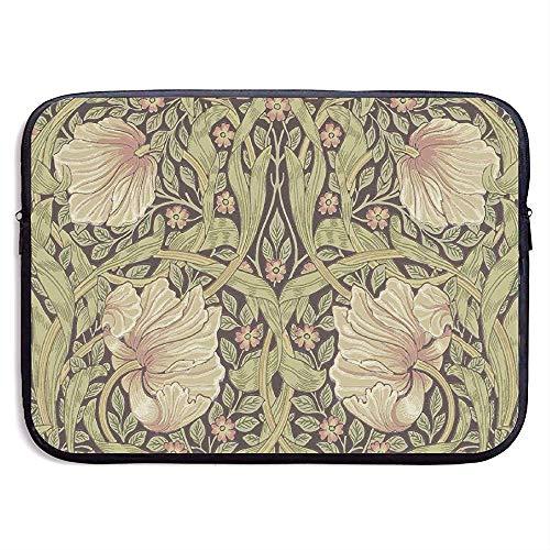 William Morris Laptop Sleeve- Stylish Cute Neoprene Notebook Handbag 33cm*25.5cm*3.5cm