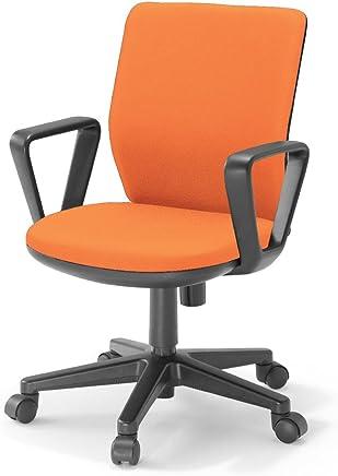 【配送?組立?設置込】 コクヨ オフィスチェア AXチェア Tタイプ AXB-R4Y ローバック サークル肘 オレンジ