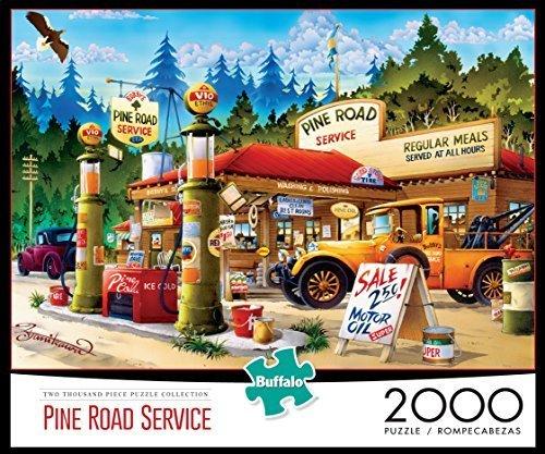 Buffalo Games: Pine Road Service Jigsaw Puzzle (2000-Piece) by Buffalo Games