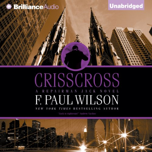 Crisscross audiobook cover art