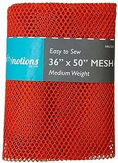 Nifty Notions Medium Mesh Fabric 1 yard /36