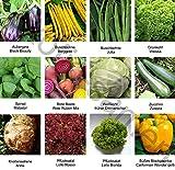 Samen - Saatgutsortiment - Set - Mix - Mischung - kleiner Gemüsegarten 2-12 Sorten - 975 Samen