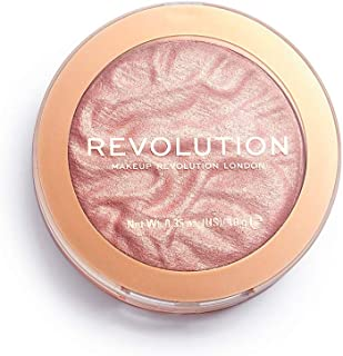 Makeup Revolution Highlighter in Make an Impact - Radiant Rose Shade