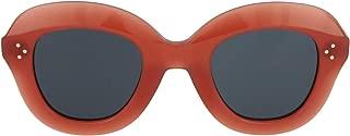 Kính mắt nữ cao cấp – CL41445/S 35J Pink Lola Round Sunglasses Lens Category 3 Size 46mm