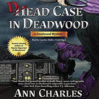 Dead Case in Deadwood audiobook cover art