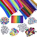 EpiqueOne 1090 Piece Kids Art Craft Supplies Assortment Set for School Projects, DIY Activities &...