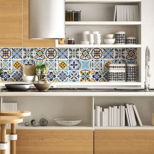 RA0197 - Lámina adhesiva para muebles y paredes, rollos de papel adhesivo de alta resolución con varios tamaños, para muebles, azulejos, mesas, armarios, cocinas