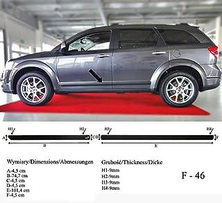Barra de protecci/ón para la Parte Trasera del Coche para Ford Ranger Pickup Facelift a Partir del a/ño de fabricaci/ón 04.2015- RBP101 RGM Color Negro Richard Grant Mouldings Ltd