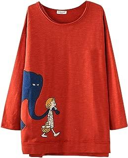 ❀♪ Women's Long Sleeve Cotton Linen Jacquard Blouses Top T-Shirt Linen Retro Chinese Frog Button Tops Blouse D-Orange