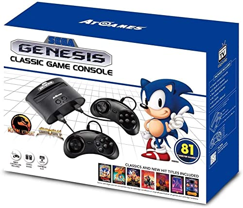 Sega Genesis Classic Game Console - Sega Gear
