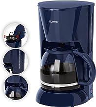 Koffiezetapparaat glazen kan 1,5 liter waterniveau-indicator koffiezetapparaat 12 kopjes (uitneembare filterinzet, warmhou...