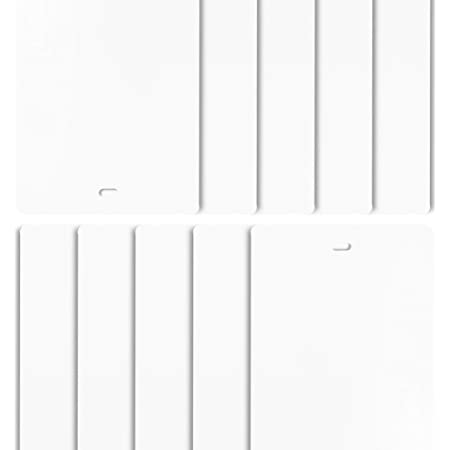 - Including Hangers Weights /& Chains Made to Measure Vertical Blind Replacement Slats 3.5 Garda White Fabric Pack of 20 Slats