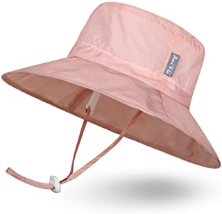 Ami&Li tots Super Lightweight Child Adjustable Ultrathin Sunhat for Baby Girl Boy Kids Toddler UPF 50