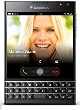 BlackBerry Passport Factory Unlocked Cellphone, International Version, 32GB, Black