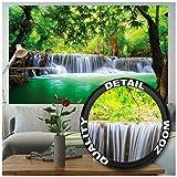 GREAT ART XXL Poster – Wasserfall Feng Shui – Wandbild