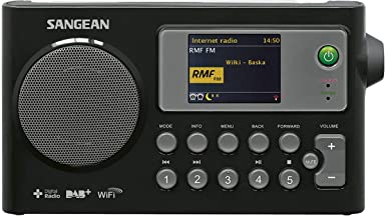 Radio portatile sangean a500336 radio wfr-27 c, nero B00NL9TPAI